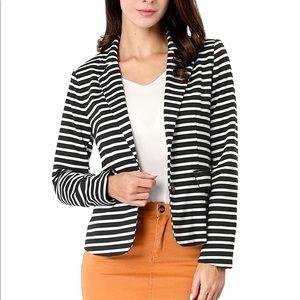 NEW Striped Blazer